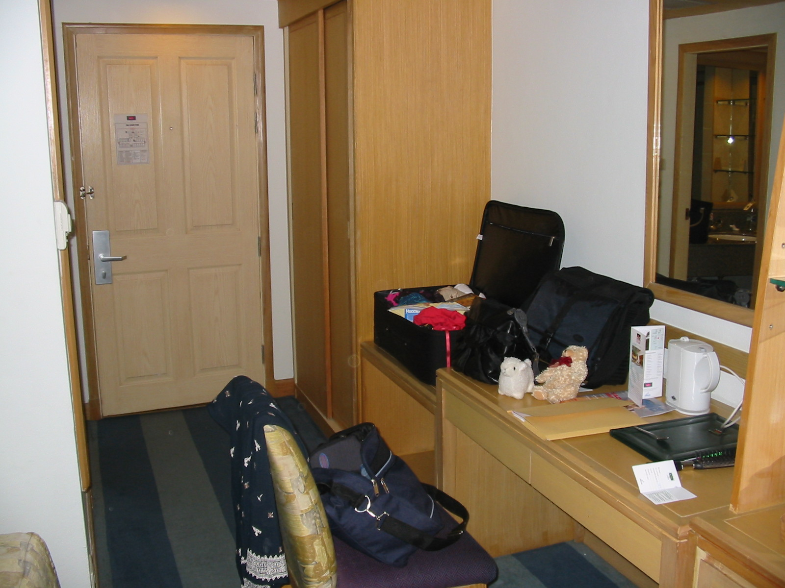 Another view of our hotel room at the Mercure